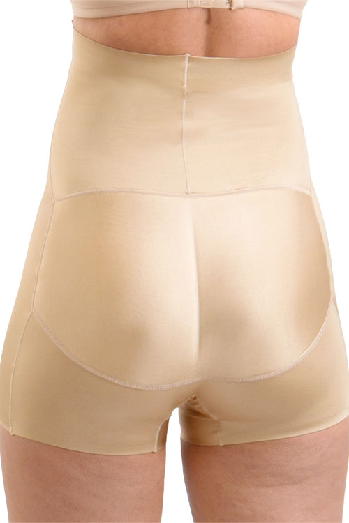 (6PCS) Molded Butt Booster High Rise Girl Short