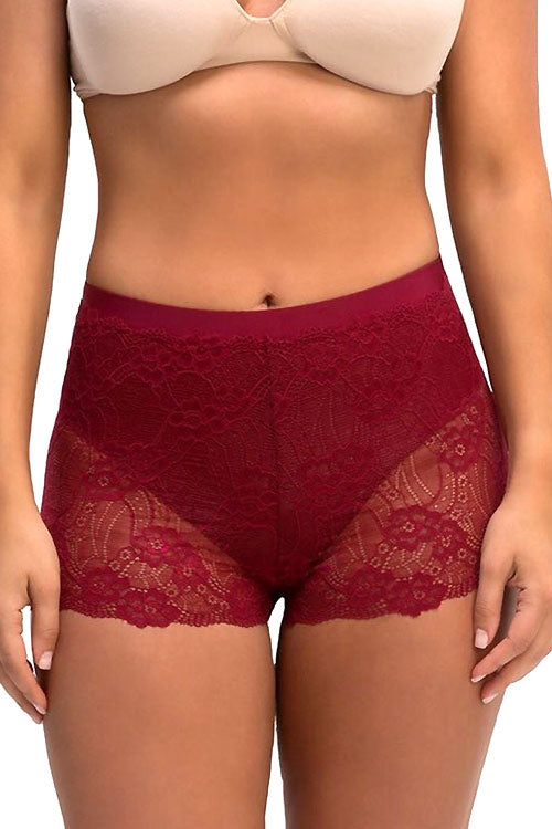 (12PCS) Beautiful Lace Brief With Inner Layer