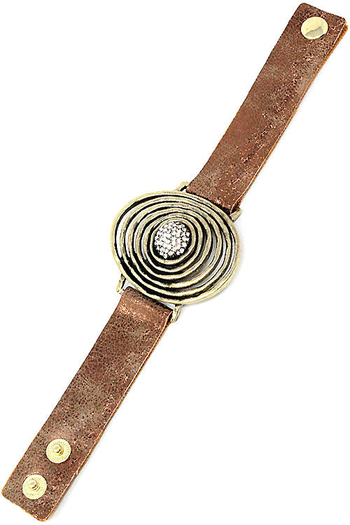 Leather Adjustable Bracelet