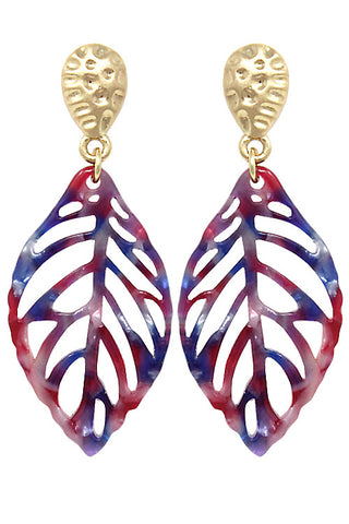 Fashion Leaf Post Earring
