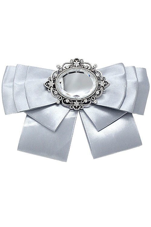 (6PCS) Crystal Bow Tie Pin