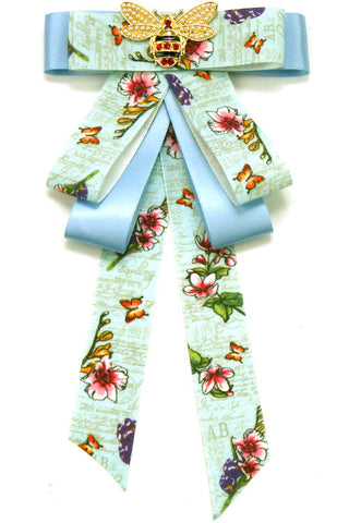 (3pcs) Flower Print Bow Tie