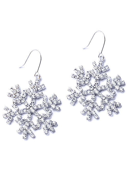 (2PCS) Christmas Snowflake Hook Earrings