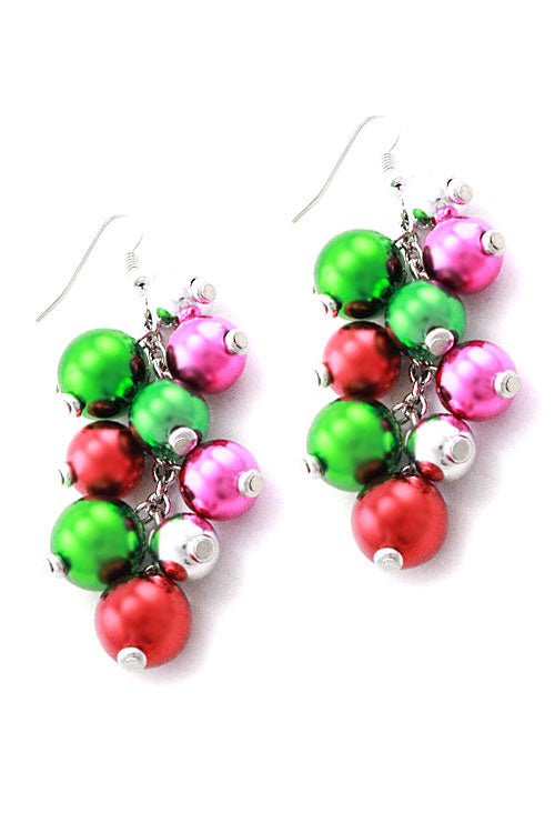 Christmas Ball Hook Earrings