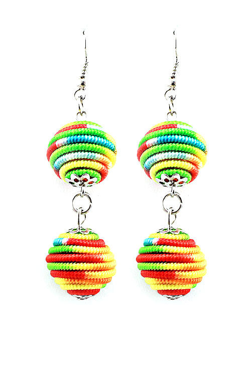 (6pcs) Ball Hook Earrings
