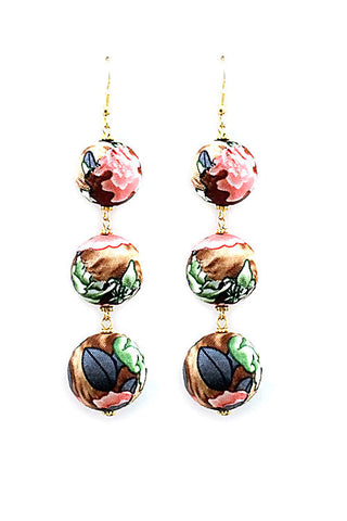 (6PCS) Fashion Ball Drop Earrings