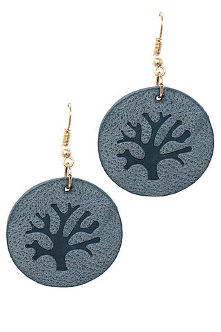 (6PCS) Tree Drop Hook Earrings