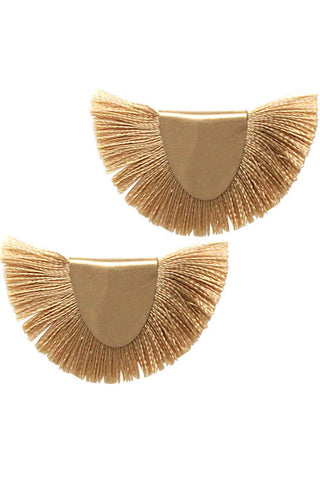 (3PCS) Tassel Metal Post Earrings