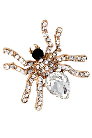 (3PCS) Stone Spider Ring