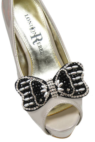 Fashion Bow Clip Shoe Accessory