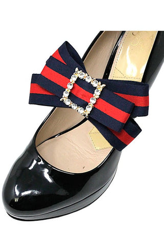 (3PK) Fashion Bow Strap Shoe Accessory