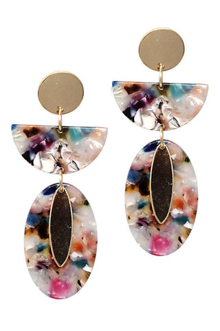 (3PCS) Drop Post Earrings