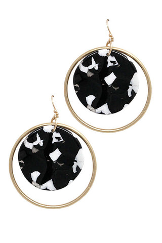(5PCS) Metal Drop Hook Earrings