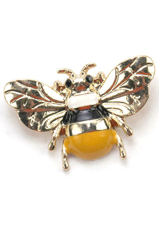 Fashion Bee Brooch Pin