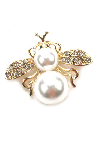 Fashion Pearl Brooch Pin