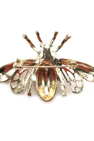 (3pcs) Metal Bee Brooch Pin