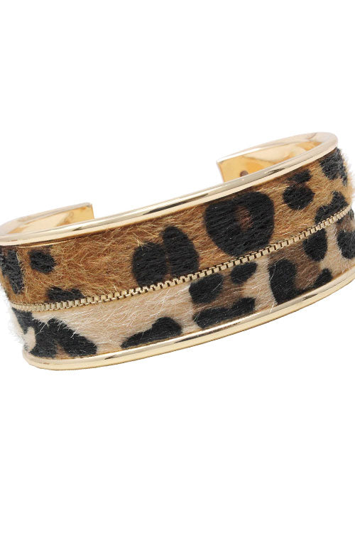 Double Color Metal Cuff Bracelet