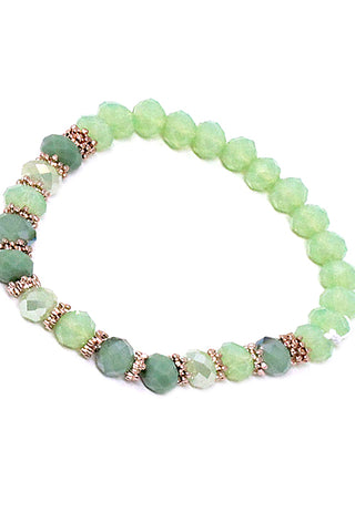 (3PCS) Beads Stretchable Bracelet