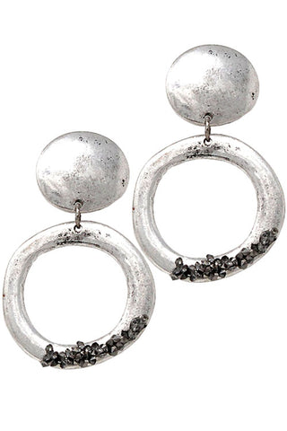 Metal Post Earrings