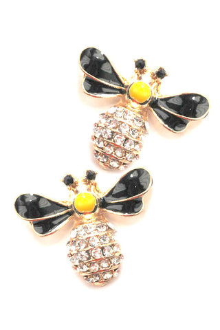 (3PCS) Bee Post Earrings