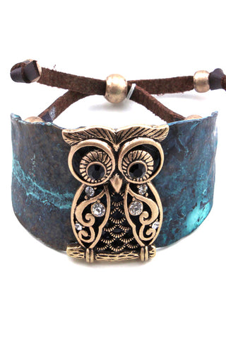 Owl Adjustable String Bracelet