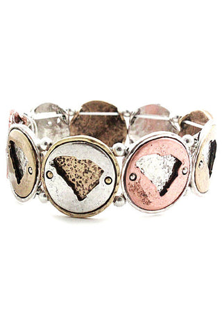 (3PCS) Metal Stretchable Bracelet