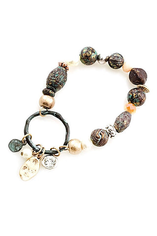 Mixed Bead Stretchable Bracelet