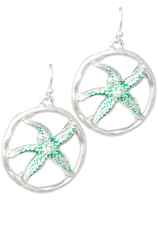 (3PCS) Starfish Hook Earrings