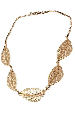Leaf Necklace Set