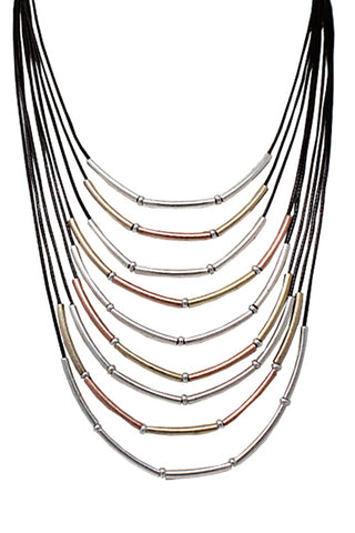 Multi String Necklace Set