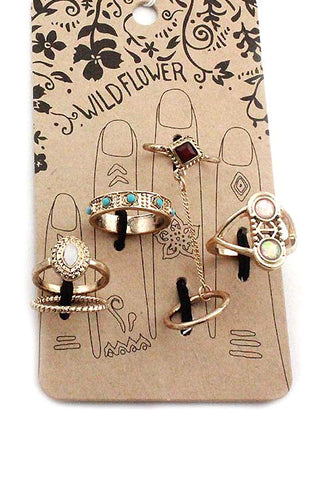 (3PCS) Multi Rings Set