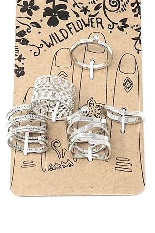 (3PCS)Multi-Ring Set