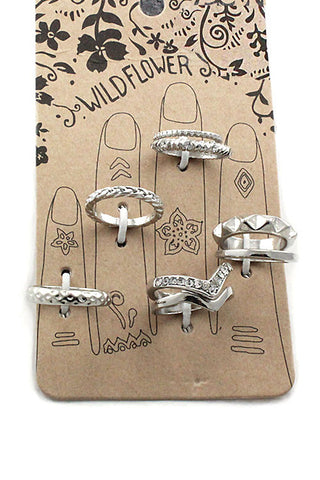 (3PCS) Multi Design Ring Set