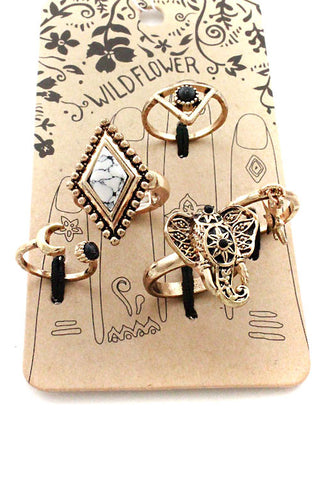 (3PCS) Multi Ring Set