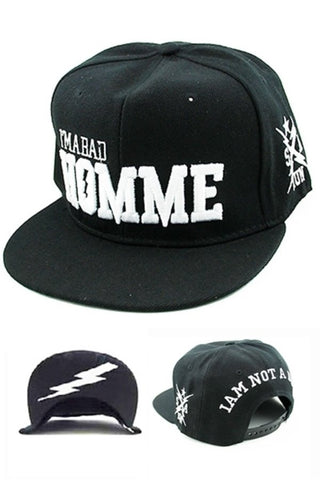 (2pcs) I'M A BAD HOMME CAP