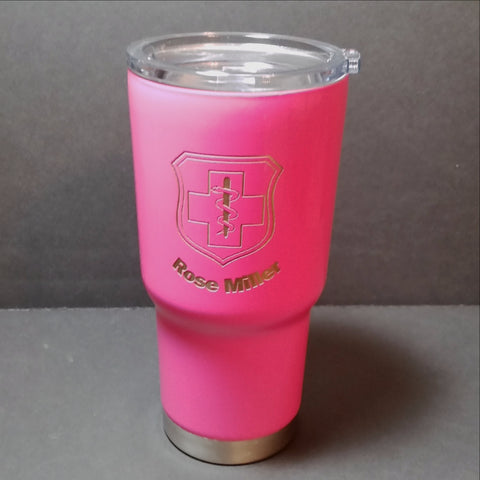 Wow someone with Personalized RTIC Tumbler.