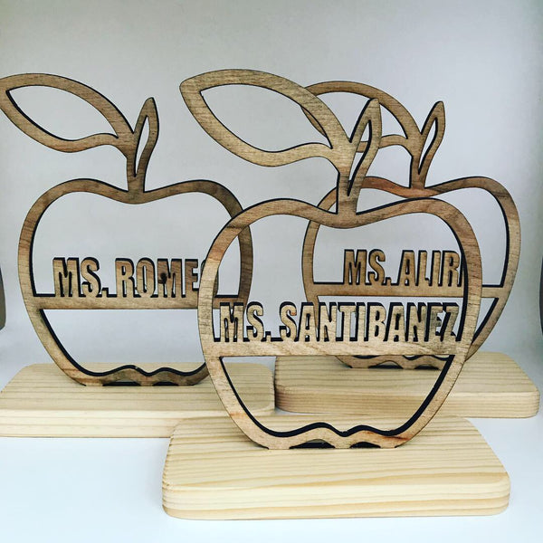 Teachers Apple Personalized