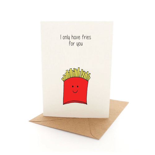 Punny Fries Card