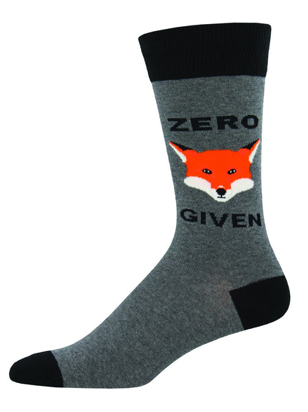 NEXT CHAPTER HOME DURAL + ONLINE | ZERO FOX GIVEN MENS SOCKS BY SOCKSMITH