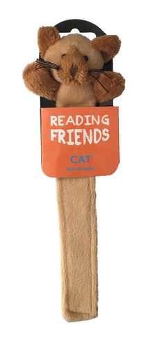 NEXT CHAPTER HOME DURAL + ONLINE | Cat Reading Friends Bookmark
