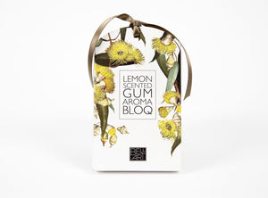 NEXT CHAPTER HOME HORNSBY | LEMON SCENTED GUM AROMA BLOQ BY BELL; ART - AUSTRALIAN MADE