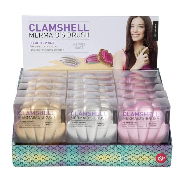 NEXT CHAPTER HOME DURAL + ONLINE | CLAMSHELL MERMAID BRUSH