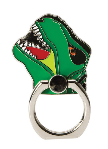 Dinosaur Enamel Phone Ring Holder