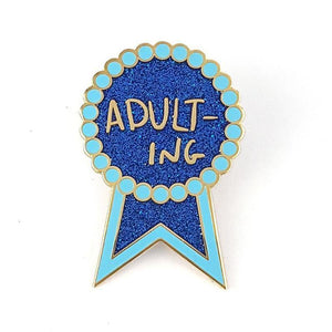 Adulting Lapel Pin by Jubly-Umph