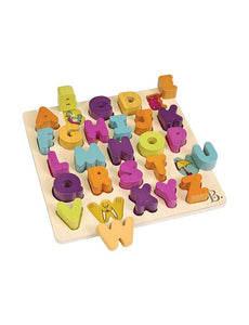NEXT CHAPTER HOME DURAL + ONLINE | ALPHA B.TICAL PUZZLE BLOCKS BY B.TOYS