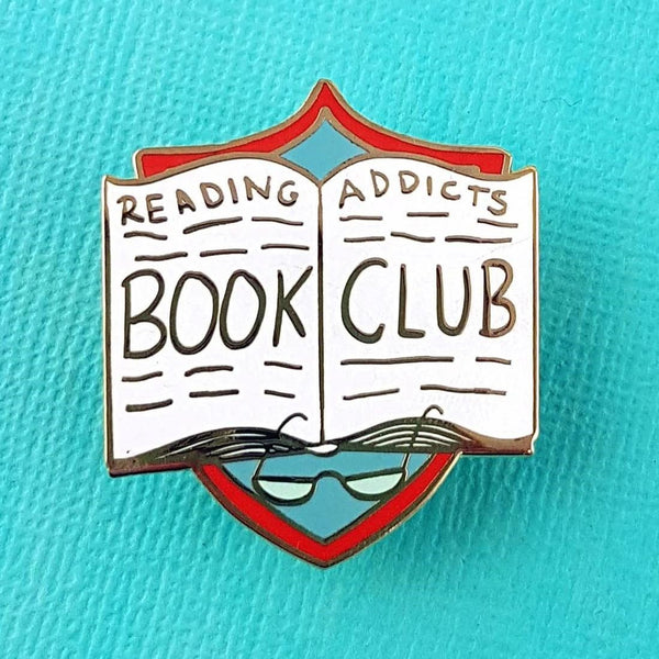 NEXT CHAPTER HOME DURAL + ONLINE | READING ADDICTS LAPEL PIN BY JUBLY-UMPH
