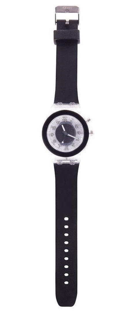 NEXT CHAPTER HOME DURAL + ONLINE | TIME TO SHINE FLASHING WATCH IN BLACK
