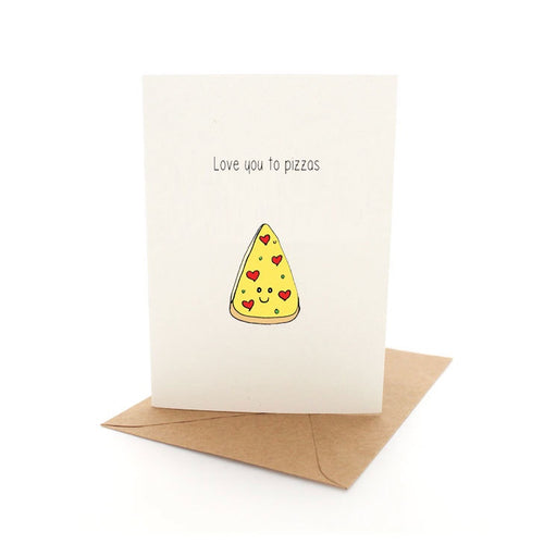 Punny Pizza Card