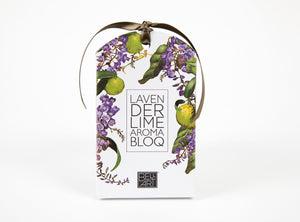 NEXT CHAPTER HOME HORNSBY | LAVENDER & LIME AROMA BLOQ BY BELL; ART - AUSTRALIAN MADE
