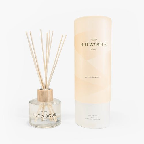 Hutwoods Reed Diffuser - Nectarine & Mint